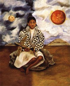 Portrait of Lucha Maria, by Frida Kahlo, 1942