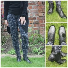 Blogger Sarah at MumOfThreeWorld shows off her Gabor Elaine ankle boots