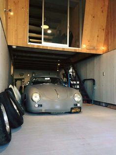 We'll take this Porsche 356 Outlaw, along with this garage please.