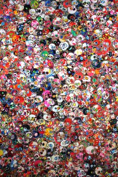 """Takashi Murakami Exhibits One of the Biggest Paintings in the World, """"The 500 Arhats"""" 
