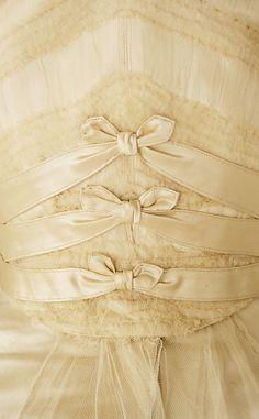 Wedding dress Charles Frederick Worth House of Worth 1905.