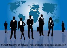 3 Chief #Benefits of #TeluguTranslation for #Business Expansion – #Telugu