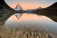 The Matterhorn a mountain in the Pennine Alps between Italy and Switzerland  Alessandra Meniconzi  #mountains #nature #lake #travel #hiking #photography #photooftheday #switzerland #travels #traveler #travelphotography #mountainslovers #gopro #freeyork