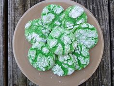 Green cookies