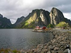 Lofoten in Norway is north of the Arctic Circle. Yet because of the largest positive temperature anomaly in the world relative to latitude it is teeming with life and has the largest deep water coral reef in the word.