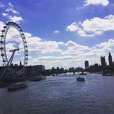 River Thames, London, England  Slightly Brilliant: ::Tweedy's Take the World - England::