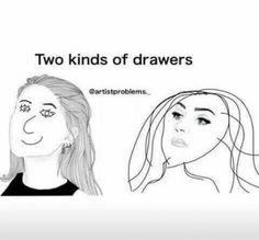 20 most relatable art memes - Artist Hue Funny Relatable Memes, Funny Jokes, True Memes, Funniest Memes, Drawing Tips, Drawing Hair, Drawing Ideas, Drawing Drawing, Drawings Of Hair