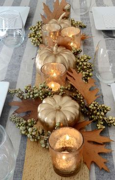 50 Awesome Thanksgiving Centerpiece Decor Ideas on a Budget Diy thanksgiving table centerpiece modern More from my site Easy DIY Thanksgiving Decor Ideas on a Budget – Fall Centerpiece The Greatest Thanksgiving Centerpiece Diy Thanksgiving Centerpieces, Thanksgiving Diy, Thanksgiving Table Settings, Decorating For Thanksgiving, Fall Table Centerpieces, Fall Table Settings, Thanksgiving Tablescapes, Holiday Decorations Thanksgiving, Christmas Tables