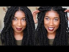 How To Havana Marley Twist Like A PRO | Invisible Roots - YouTube