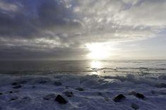Winters Ijsselmeer