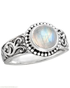 Moonstone, Sterling Silver. High-quality, high-fashion Sterling Silver Jewelry that allows women to design the life of their dreams.  Available at Silpada.com #SilpadaStyle