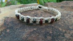 Check out this item in my Etsy shop https://www.etsy.com/listing/246693506/mens-hemp-bracelet-czech-glass-beads