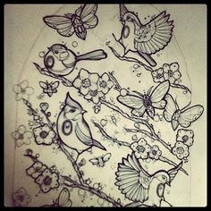Don't Tell Mama Tattoo Studio: A ton of new tattoo sketches by amazing Miss Juliet!