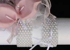 wrist corsage...I like the pearl bracelet