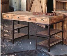 What a great table, hmmm dressing table or craft room.