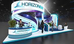 Horizonsat - CABSAT 2015 on Behance