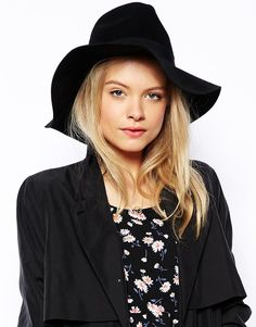 Asos Floppy Felt Fedora Hat on shopstyle.com