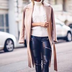 #zara #faux #leather #pants #fall #ootd