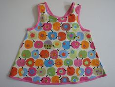 pinafore - apples