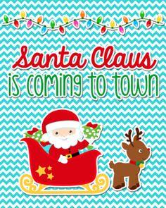 "Santa Claus Freebie 8x10"""
