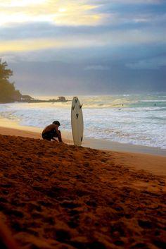 Surf... sunset...