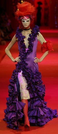 Christian Lacroix Haute Couture Autumn 2002
