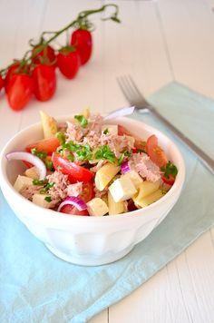 Makkelijke Maaltijd: Pastasalade met tonijn - tuna salad