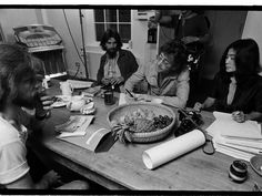 Alan White, George Harrison, John Lennon, and Yoko Ono. Spud Murphy/Courtesy of the artist. John Lennon Yoko Ono, Imagine John Lennon, Imagine Album, Alan White, Mix Video, Number One Hits, Sound Studio, How To Play Drums, Culture
