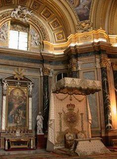 Interior of Royal Palace, Madrid