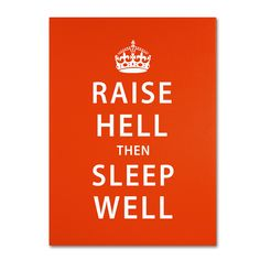 Megan Romo 'Raise Hell VI' Art