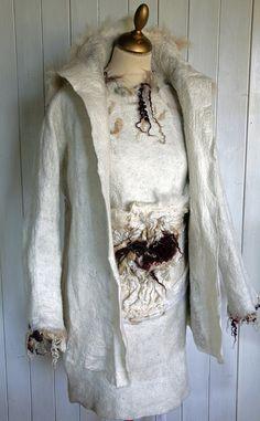 Hand felted jacket