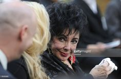 In this handout photo provided by Harrison Funk/The Jackson Family, Actress Elizabeth Taylor attends Michael Jackson's funeral service held at Glendale Forest Lawn Memorial Park on September 3, 2009 in Glendale, California. Jackson, 50, the king of pop, died at UCLA Medical Center after going into cardiac arrest at his rented home on June 25, 2009 in Los Angeles, California.