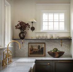 Interior Exterior, Kitchen Interior, Kitchen Decor, Interior Design, Kitchen Art, Küchen Design, House Design, Poem Design, Kitchen Styling