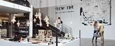 Slow Life - Keep cool, Life is beautiful / Blog Merci - FR / Buffet de Granny lights by The Gentle Factory #thegentlefactory