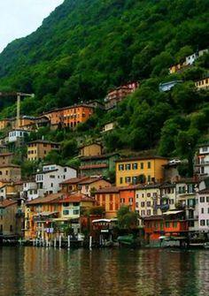 Gandria, Lake Lugano, Switzerland - Travel