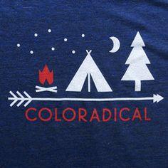 Camp Coloradical T-Shirt (Men's)