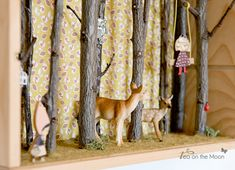 Diorama de un bosque encantado + {Mister and Mississippi}