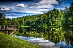 Peaks of Otter Lake by Kay Gaensler, via Flickr