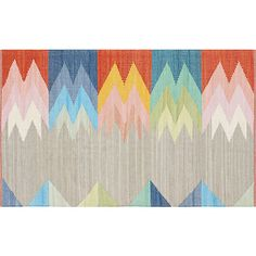Ruby's Room - it's a flat weave (not fluffy), but the colors are fabulous. featherbottom rug