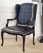 Ralph Lauren Conservatory Garden Host Chair ~ Plaid http://pacificheightsplace.com/ralacogahoch1.html
