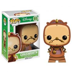 [Pre-Order] Disney Pop! Vinyl Figure Cogsworth [Beauty & The Beast] - Disney - Funko Pop! Vinyl - Category
