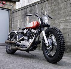 Harley flat tracke husqvarna tank