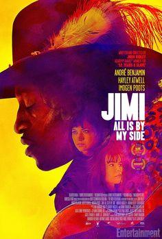 Jimi : All Is By My Side (2013) (dir. John Ridley)  #JimiHendrix #movies #posters