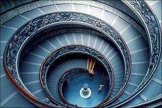 Vatican stairs by MarcelGermain, via Flickr