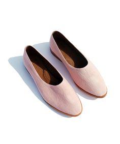 Faded Pink & Lavendar Flats