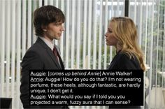 Annie and Auggie