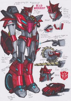RID Knockout concept by MightyLockdown on DeviantArt