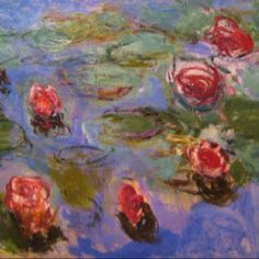 Monet's Water Lilly's.