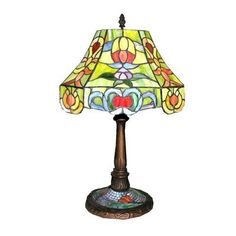 Warehouse of Tiffany PS 216 Style Table Lamp