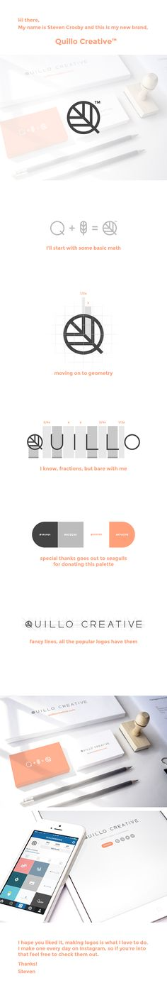 Quillo Creative™ Personal Branding on Behance
